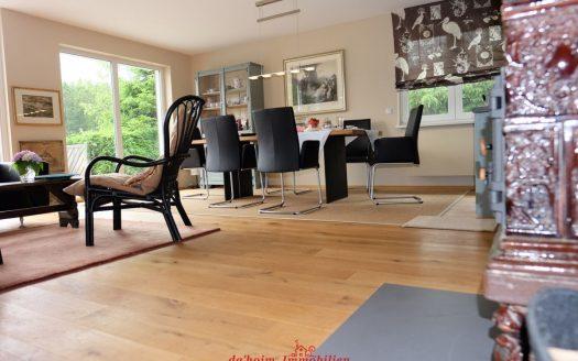 Modernes Open-Concept Ferienhaus in ruhiger Lage mit großer Infinity-Terrasse im Hochschwarzwald, Lenzkirch