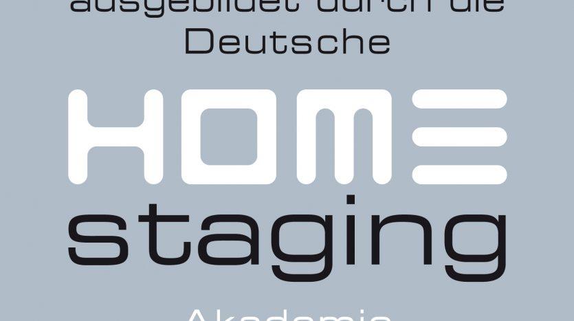 ausgebildete Home Stagerin Emblem