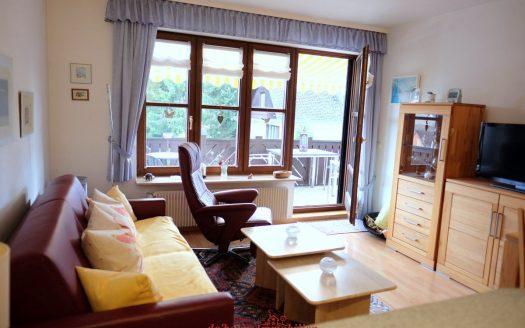 Premium-Appartement in Lenzkirch zu verkaufen. Klein und fein. Sofort bezugsfertig. Zentrale Lage. Mit Dampfsauna, neuer Küche mit Granitplatten und neuem Bad.