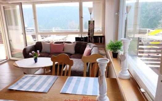 3-Zimmer Eigentumswohnung in Feldberg-Falkau mit großem Süd-Balkon in schöner Aussichtslage. Nahezu nebelfrei in über 1.000 m Höhenlage.