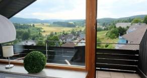 3,5 Zimmer Panorama-Dachgeschosswohnung mit Schwimmbad in Lenzkirch